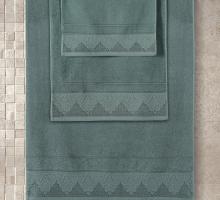 "Полотенце махровое ""KARNA"" жаккард SIESTA (50x90) см 1/1"