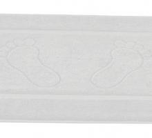 """Коврик гостиничный """"GREN"""" 700gsm 20/2 50X70 см 1/1 Белый"""