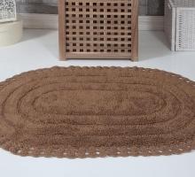 """Коврик для ванной """"KARNA"""" кружевной YANA 60x100 см 1/1"""